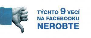 9 chýb na Facebooku. Robí ich aj vaša značka? Autentik Blog