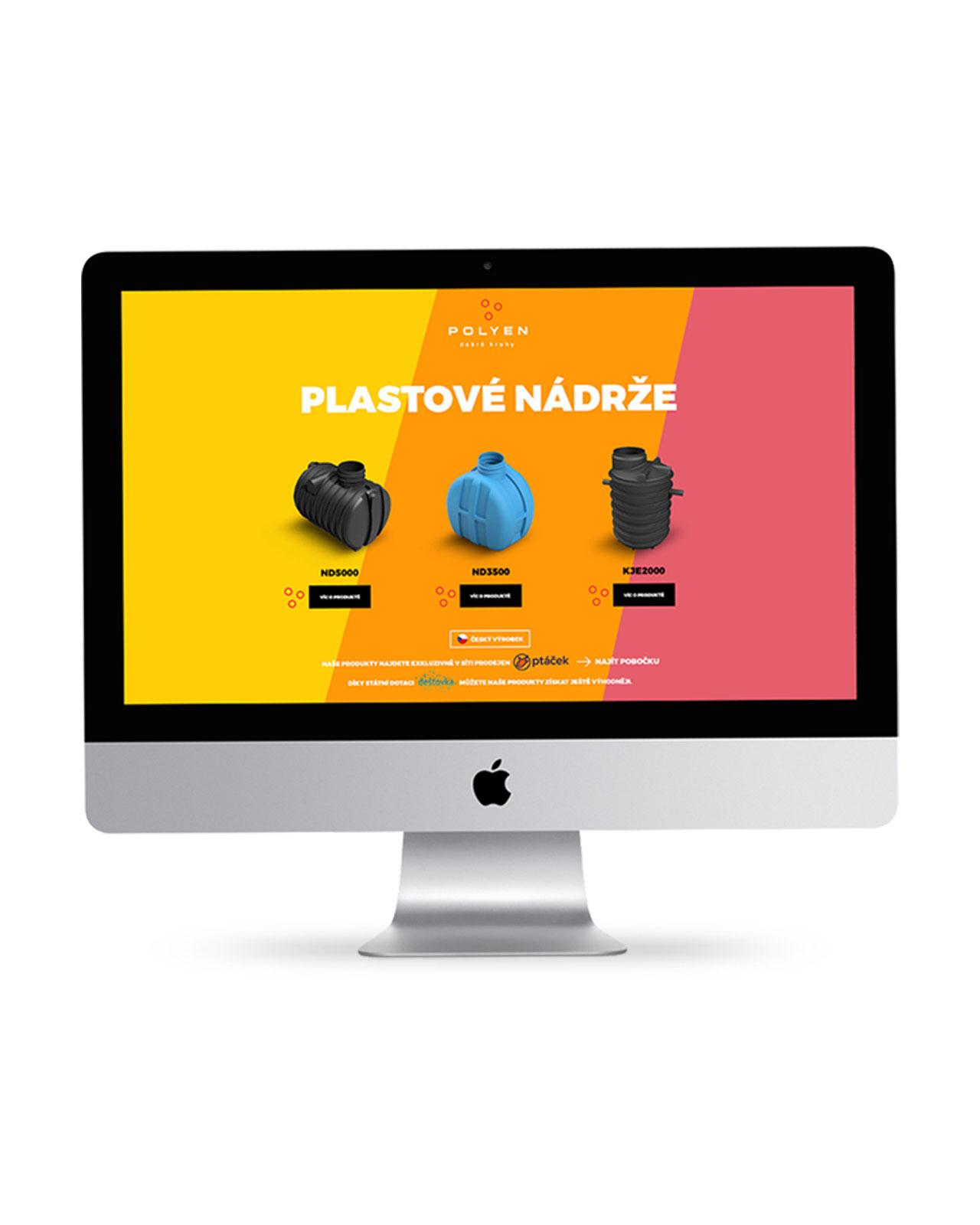 dizajn webovej stránky